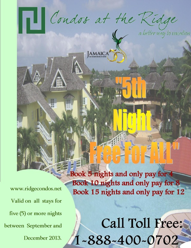 5th Night Free Promotion Flyer